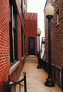 Alley In Clayton, New York
