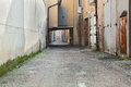 Alley in the old town Royalty Free Stock Photo