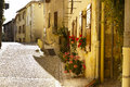 Alley Saint Jean de Cole Dordogne Royalty Free Stock Photo
