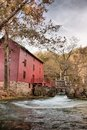 Alley spring mill house Royalty Free Stock Images