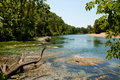 Alley springs scenic bend beautiful missouri located in the ozark national riverways Stock Photo