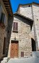 Alleyway. Assisi. Umbria. Stock Photo