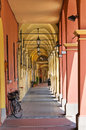 Alleyway. Cento. Emilia-Romagna. Italy. Royalty Free Stock Photos