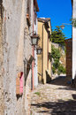 Alleyway. Montebello. Emilia-Romagna. Italy. Royalty Free Stock Photos