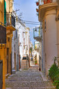 Alleyway montescaglioso basilicata italy of Royalty Free Stock Photos