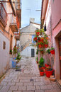 Alleyway san giovanni rotondo puglia italy of Royalty Free Stock Photos