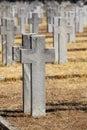 Allied cemeteries Stock Photo
