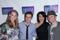 Allison iraheta blake lewis didi benami kris allen and at the narm convention awards dinner century plaza hotel century city ca Royalty Free Stock Photo