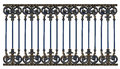 Alloy steel gate pattern Royalty Free Stock Photo