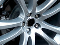 Alloy Wheel Royalty Free Stock Photo
