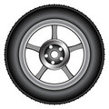 Alloy wheel 2 Royalty Free Stock Photos