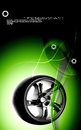 Alloy wheel Royalty Free Stock Photo