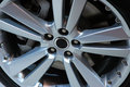 Alloy Wheel Close Up Royalty Free Stock Photo