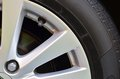Alloy wheels in the car Stock Photography