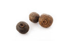 Allspice pepper jamaica pepper on white background Royalty Free Stock Photo