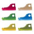 allstar shoes Royalty Free Stock Photo