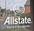 Allstate Insurance Sign Royalty Free Stock Photo