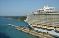 Allure of he Seas in Nassau Royalty Free Stock Photo