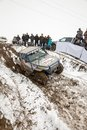 Almaty kazakhstan february off road racing on jeeps car competition atv traditional race kaskelen gullies cup the republic of Royalty Free Stock Photo