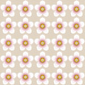 Almond blossom pattern an vector useful as background or for decoration bordering or just the image on its own Royalty Free Stock Photo