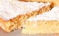 Almond Cake Stock Image