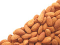 Almond-diagonal. Royalty Free Stock Image