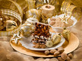 Almond nougat brittle Royalty Free Stock Photos