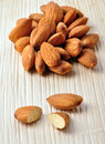 Almond nuts Royalty Free Stock Photo