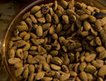 Almond nuts bowl Royalty Free Stock Photo