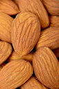 Almond nuts macro photo with Royalty Free Stock Photo