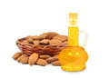 Almond oil Royalty Free Stock Photo
