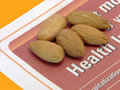 Almonds for health Royalty Free Stock Images
