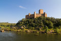 Almourol castle Royalty Free Stock Photo