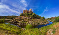 Almourol castle - Portugal Royalty Free Stock Photo