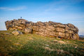 Almscliffe Crag Harrogate Royalty Free Stock Photo