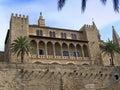 Almudaina Palace Royalty Free Stock Photo