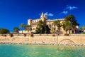 Almudaina Palace in Palma de Mallorca Royalty Free Stock Photo