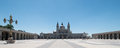 Almudena Cathedral at Madrid Royalty Free Stock Photography