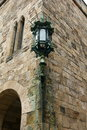 Alnwick Castle Lamp Royalty Free Stock Photo