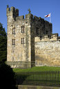 Alnwick Castle - Northumberland - England Royalty Free Stock Photography