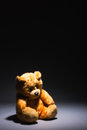 Alone teddy bear Royalty Free Stock Images
