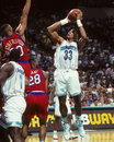 Alonzo mourning charlotte hornets Photo stock