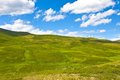 Alp meadow nature background mountains Stock Image