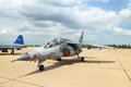 Alpha Jet was showed in Cerebration of 100 year Stock Photos