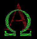 Alpha Omega Sign Royalty Free Stock Photo
