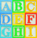Alphabet (1) Royalty Free Stock Images
