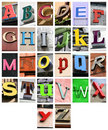 Alphabet Royalty Free Stock Image