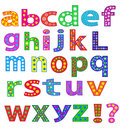 Alphabet. Royalty Free Stock Photo