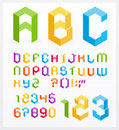 Alphabet 3D Photo stock