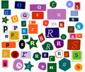 Alphabet Royalty Free Stock Photography